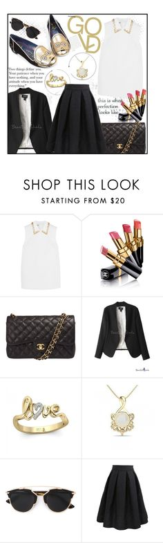 """""""Beautifulhalo!"""" by ina-kis ❤ liked on Polyvore featuring Miu Miu, Chanel, Christian Dior, Irregular Choice, women's clothing, women's fashion, women, female, woman and misses"""
