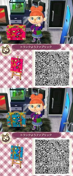1000 Images About Animal Crossing New Leaf Qr Codes