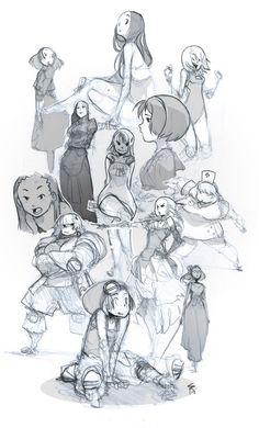Day 6 sketch. ✤ || CHARACTER DESIGN REFERENCES | キャラクターデザイン | çizgi film • Find more at https://www.facebook.com/CharacterDesignReferences & http://www.pinterest.com/characterdesigh if you're looking for: #grinisti #komiks #banda #desenhada #komik #nakakatawa #dessin #anime #komisch #manga #bande #dessinee #BD #historieta #sketch #strip #cartoni #animati #comic #komikus #komikss #cartoon || ✤