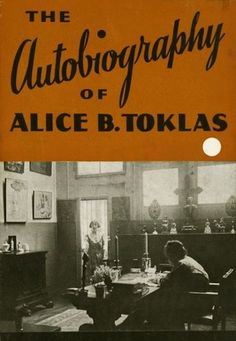 The Autobiography of Alice B. Toklas (dust jacket), Gertrude Stein, 1933