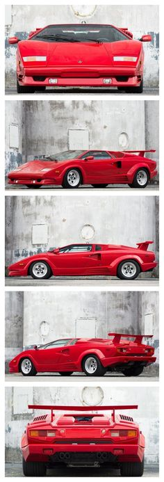 80's cool! Fall in love with this 25th Anniversary edition Lamborghini Countach #FlashbackFriday