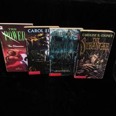 Lot 4 Thriller YA Books Ghost Abbey Silent Witness The Obsession Stranger | Books, Children & Young Adults, Young Adult Fiction | eBay!