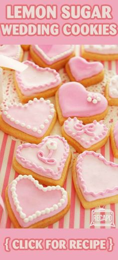 Need to try out Carla Hall's Lemon Cardamom Wedding Cookies Recipe. These cookies will serve as a tasty DIY wedding favor too! http://www.recapo.com/the-chew/the-chew-recipes/the-chew-carla-halls-lemon-cardamom-wedding-cookies-recipe/