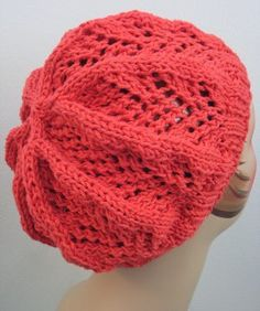 This slouchy beanie in a bright, bold color is too cute to pass up.