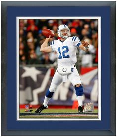 "Andrew Luck Indianapolis Colts - 11"" x 14"" Framed & Matted"