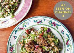 Lamb Meatballs and Cauliflower Tabbouleh @HemsleyHemsley