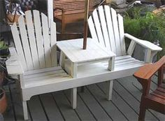 #Adirondack chairs w/ umbrella