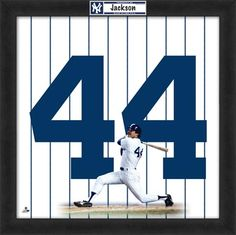 Reggie Jackson (one of my favorite players)  New York Yankees (my favorite team)  GottaLoveIt
