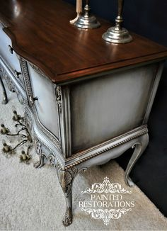 Refinishing Furniture Diy Dresser Dark Wax Best Ideas furniture before and after furniture diy furniture distressed furniture whimsical Refurbished Furniture, Repurposed Furniture, Shabby Chic Furniture, Furniture Projects, Furniture Making, Furniture Makeover, Furniture Refinishing, Furniture Design, Furniture Vintage