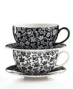 Black & white tea.