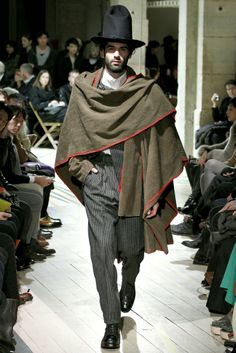 Yohji Yamamoto   Fall 2012 Menswear Collection   Style.com