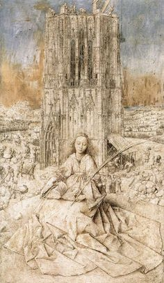 Find the latest shows, biography, and artworks for sale by Jan van Eyck. The most famous of the van Eyck family of painters, Jan van Eyck brought a heightene… Die Renaissance, Renaissance Kunst, Renaissance Artists, Renaissance Paintings, Jan Van Eyck, Saint Barbara, Kunsthistorisches Museum, Silverpoint, Art History