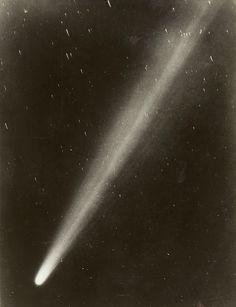 Halleys Comet, May 4, 1910. Yerkes Observatory                                                                                                                                                                                 More