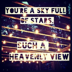 Sky Full of Stars, Coldplay