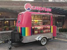 Food Truck Monterrey 100 S A - An amazingly colored candy bar! #foodtruck #foodtrailer #shoponwheels
