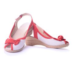 #maricomshoes #womanshoes #red&white #redshoes #summershoes #shoes  www.maricomshoes.com