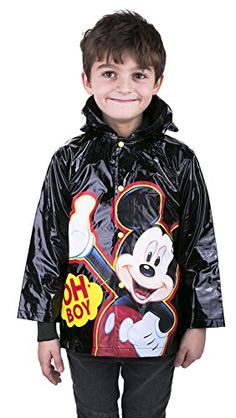 Disney Mickey Mouse Boys Rain Coat Size Xsmall 45 -- Check this awesome product by going to the link at the image.