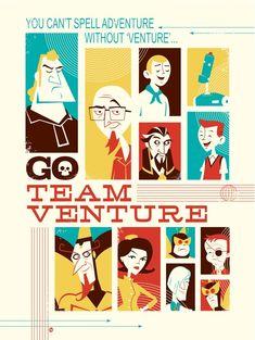"""""""Go Team Venture!"""" by Dave Perillo"""
