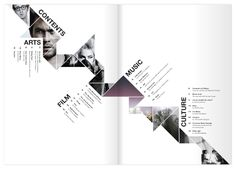 Branding and layout design for a arts and culture magazine.