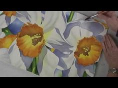 The Daffodil in Watercolor - Preview Program - YouTube