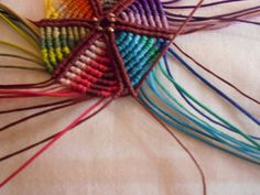 ΠΟΛΥΧΡΩΜΟ ΜΕΝΤΑΓΙΟΝ – kentise Macrame Art, Friendship Bracelets, Projects To Try, Jewelry, Macrame Earrings, Bags, Jewlery, Jewerly, Schmuck