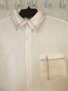 Cubavera 1X Mens Shirt Linen Camp Cigar Bowl Short Sleeve White  Button Front  #Cubavera #ButtonFront