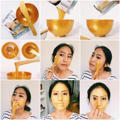 Korea's hottest new beauty trend: Modeling Masks. Incorporate this skincare ritual into your routine now with a Shangpree Gold Premium Modeling Mask from Peach & Lily.