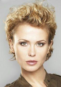 Populair 15 beste afbeeldingen van kapsel voor krullend haar - Curly hair #IF01