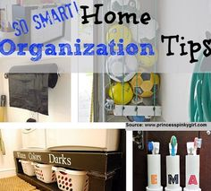Home Organization Tips - SO SMART! I envy the organized mom! Here are some great and fabulous home organization tips that I am committed to try, and hopefully you will too! Organisation Hacks, Organization Station, Diy Organization, Organizing Ideas, Organized Mom, Getting Organized, Organized Bathroom, Hm Deco, Life Hacks