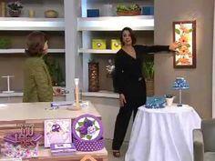 Programa Mulheres TV GAZETA exibido dia 24/08/2011 - Ciartes - Cida Fant...