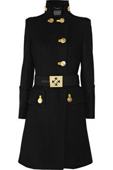 Gorgeous Versace..Military Style Coat...net-a-porter <3