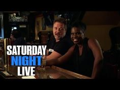 SNL Host Russell Crowe and Leslie Jones Play a Drinking Game BY Jimmy Ki...