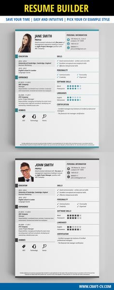 Resume Example - Professional Resume Template #resume - creative resume builder