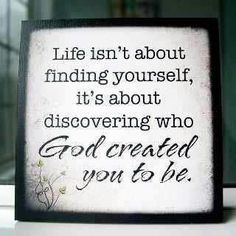 We were created! In the words of Mike Ashcraft.If God created it, He alone defines it :) Life Quotes Love, Great Quotes, Quotes To Live By, Me Quotes, Inspirational Quotes, Godly Quotes, Amazing Quotes, Diva Quotes, Honest Quotes