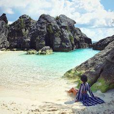 Bermuda'ing in #WarwickBay with @shanikahillocks. // Travel Well #TravelFly!