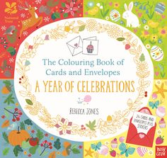 National Trust: The Colouring Book of Cards and Envelopes: A Year of Celebrations | Nosy Crow