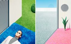In the Garden by Clemens Ascher - CGI and Retouching on Behance