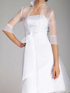 2pc Classic Satin Little White Dress,Style No.0bg01782,US$151.99