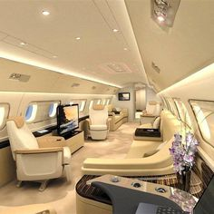"""OMGOSH!! YES!! 4 MY BABY!! PERFECT 4 A MEGA MINISTRY!! COMFORT & STYLE BECAUSE """"HE DESERVES IT!! XO *** private jet..... #luxury lifestyle #flyinstyle ==>> http://anagelessyou.com/"""