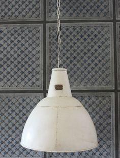 Lovely H nge Lampe cm Alte Industrielampe wei Loftlampe Fabrik Deckenlampe Loft