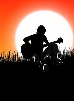 Miłosc nie wybiera a gitara daje radosc :)))))