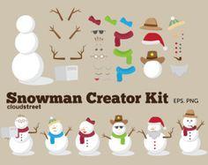 buy 2 get 1 free Gingerbread man Creator Kit by cloudstreetlab