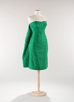 House of Dior Evening Dress, ca. 1959