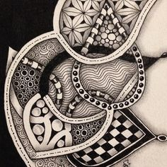 Reticula and Fragments were introduced by Rick Roberts and Maria Thomas (founders of Zentangle) in their book Zentangle Primer Volume 1. Reticula are simply frameworks in which to place pattern fra…