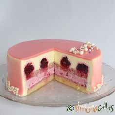 French Desserts, Sweet Desserts, Just Desserts, Easy Cake Recipes, Sweets Recipes, Baby Food Recipes, Fancy Cakes, Mini Cakes, Specialty Cakes