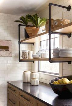 Cool Modern Farmhouse Kitchen Backsplash Ideas 26
