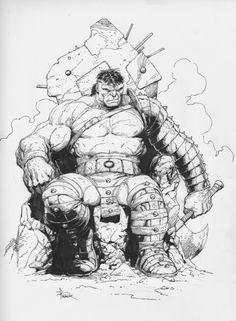 #Hulk #Fan #Art. (Hulk) By: Gary Frank. (THE * 5 * STÅR * ÅWARD * OF: * AW YEAH, IT'S MAJOR ÅWESOMENESS!!!™)[THANK Ü 4 PINNING<·><]<©>ÅÅÅ+