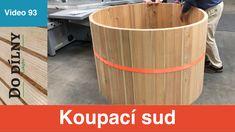 Bathing barell #dodilny #dilna #iglifecz #truhlarstvi #drevo #wood #woodworking #woodworker #woodworkforlife #homedecor #woodshop #handtools #bosch #boschtools #woodworkforall #felder #dodilnylukyho #pinterest Bosch Tools, Hand Tools, Home Projects, Woodworking, Make It Yourself, Bathing, Youtube, Workshop, Channel