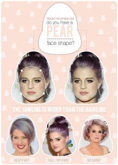 HAIR TALK: Tips + Tricks for a Pear Face Shape! xo