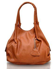 Fostelo Style Diva Women s Handbag (Tan)  Amazon.in  Shoes   Handbags b152a982adf7c